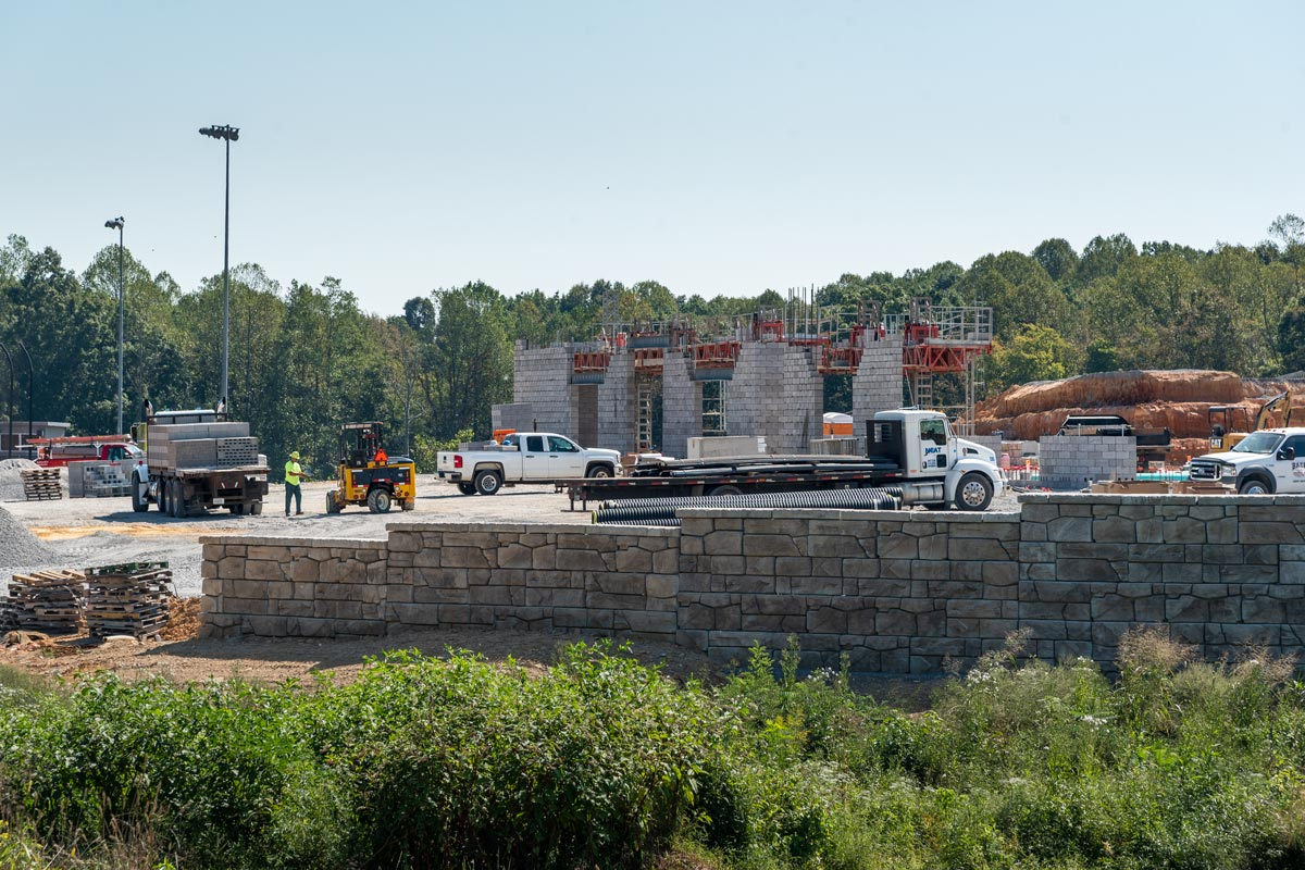 Lake Cumberland Regional College and Workforce Center first walls going up.