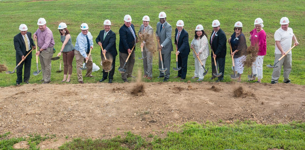 Lake Cumberland Regional College and Workforce Center ground breaking.
