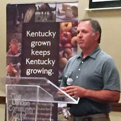 Board Chairman Clint Voils participates in Kentucky Association of Manufacturers LAND Forum