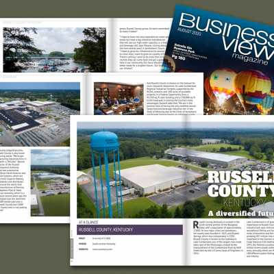 Russell County Featured in Business View Magazine