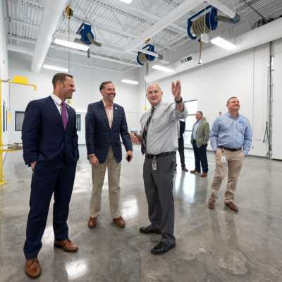 First Look Inside the Lake Cumberland Regional College & Workforce Center